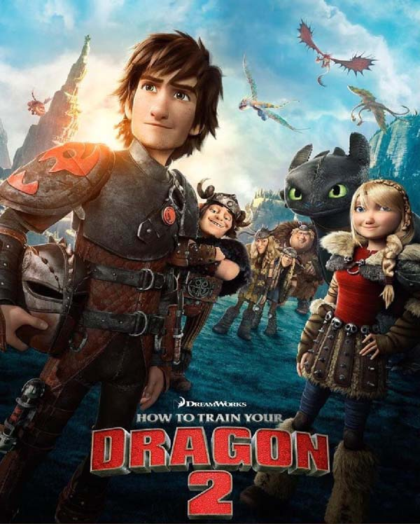 Film Poster for     How to Train Your Dragon 2