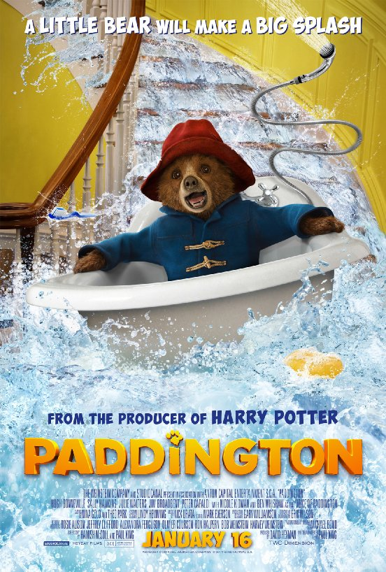 Film Poster for   Paddington