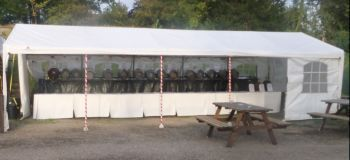 Beer tent / bar - before start