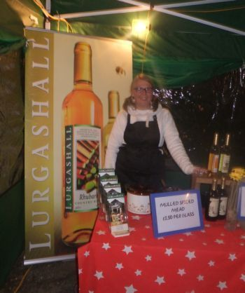 Lurgashall Winery stall with large sign