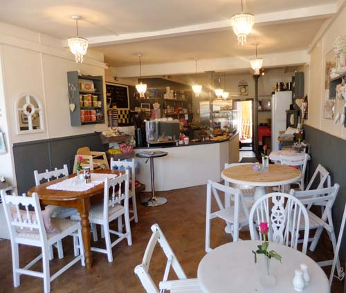 Inside of Treacle's Tea Shop